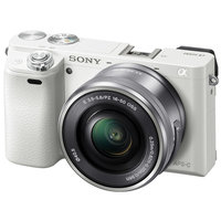 Фотоаппарат Sony Alpha ILCE-6000 Kit 16-50 mm White