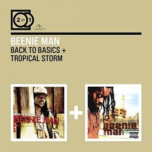"""Beenie Man """"2 For 1: Back To Basics / Tropical Storm"""""""
