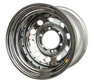 Off-Road Wheels диск Nissan Navara D40 стальной хромированный 6x114,3 8xR17 d66 ET-0 - фото 1