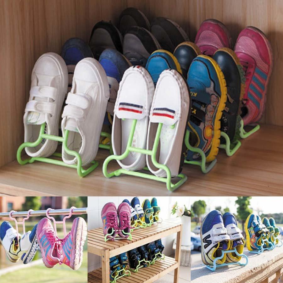 Подставка-сушилка для обуви 2 шт, цвет микс