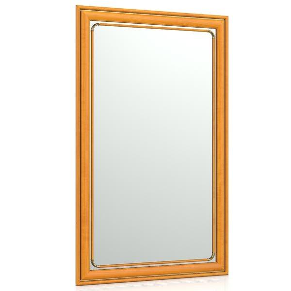 Зеркало для прихожих и комнат 121 50х80 см. рама вишня