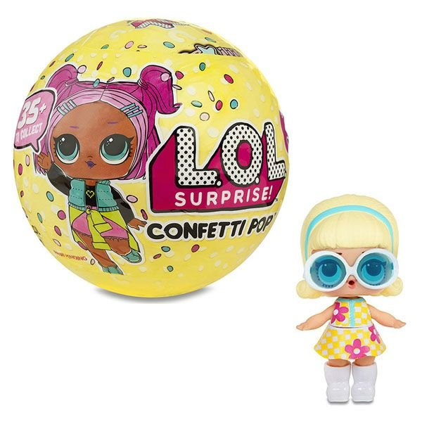 Кукла MGA Entertainment ЛОЛ Конфетти сюрприз в шарике Серия 3 Волна 1