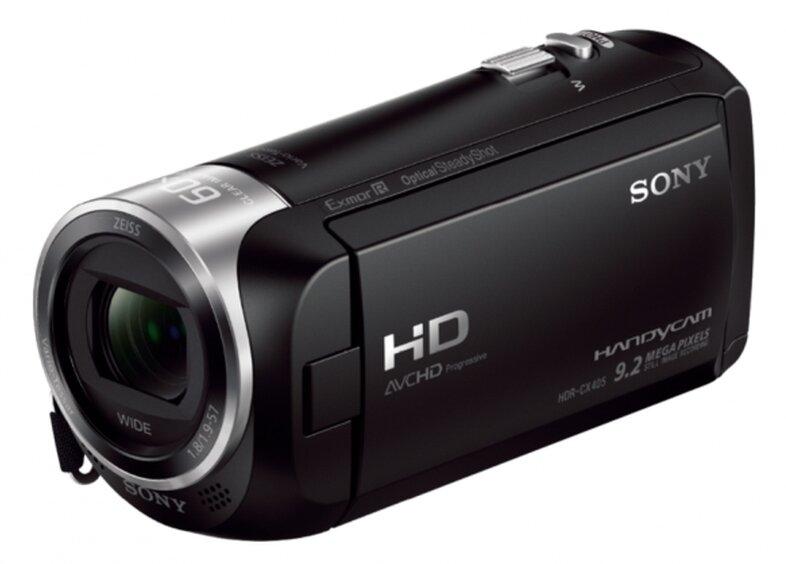 Цифровая видеокамера Sony HDR-CX405E чёрный