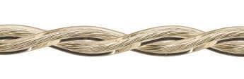 Ретро кабель (50м) 2*2.5 прозрачный, ПУП(Л) Подольсккабель