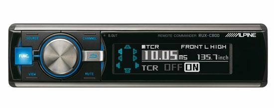 Аудиопроцессоры Alpine RUX-C800