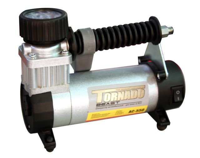компрессор автомобильный AUTO STANDART TORNADO-III 12В 35л/мин