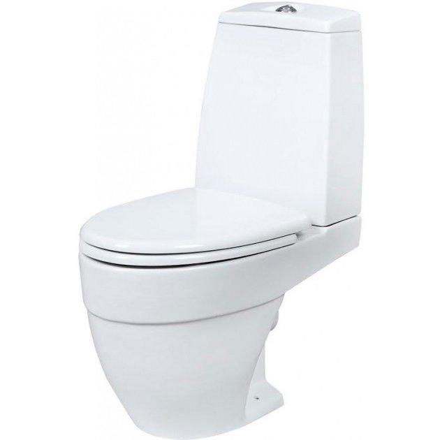 Унитаз-компакт Am.Pm Like C808607SC + держатель туалетной бумаги в подарок купить в спб смеситель для душевой кабины