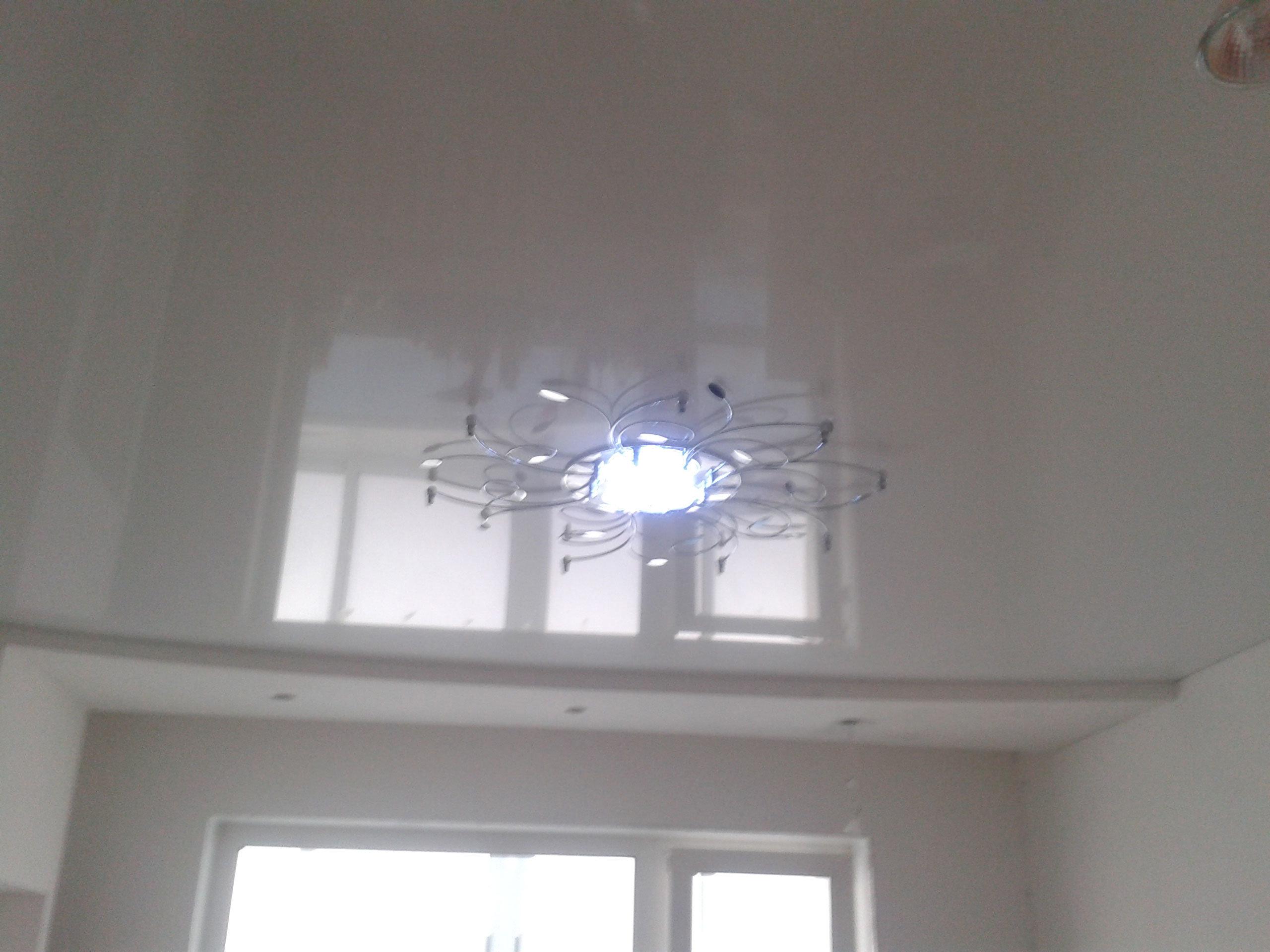 Натяжные потолки глянцевые цена за 1м2 с установкой