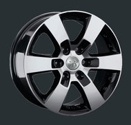 Диски Replay Replica Toyota TY83 7.5x17 6x139,7 ET25 ЦО106.1 цвет BKF - фото 1