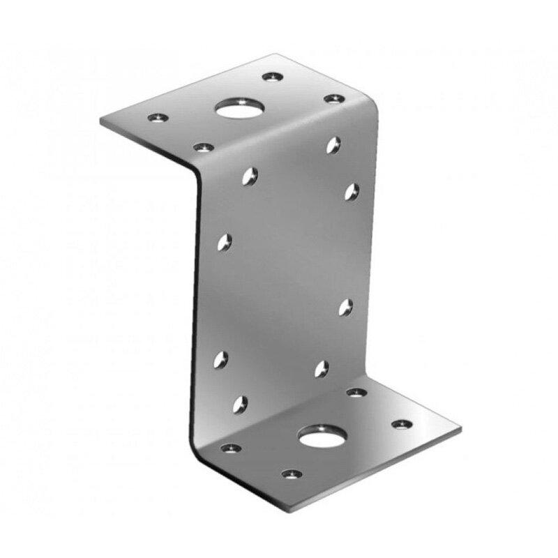 Крепежный уголок Z-образный KUZ (45 / 90 / 65 / 2мм) (1 шт.)