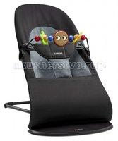 BabyBjorn Кресло-шезлонг Balance Soft Черный с серым 0050.22