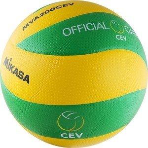 Мяч волейбольный Mikasa MVA200CEV (р. 5), официальный мяч Лиги Чемпионов ЕКВ