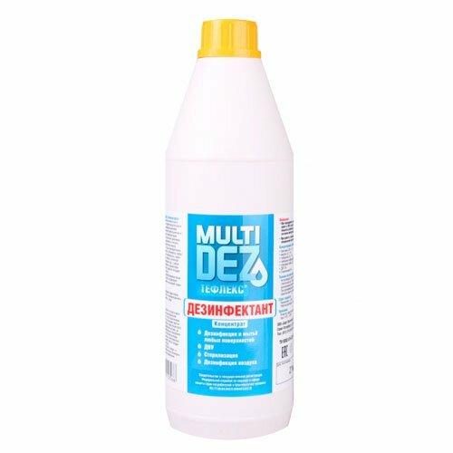 Тефлекс, Дезинфицирующее средство - МультиДез (концентрат, 1 л.)