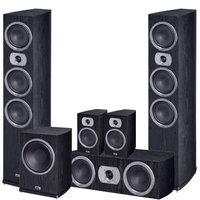 Комплекты акустики Heco Victa Prime Set 5.1 black (702+302+102+252 A)