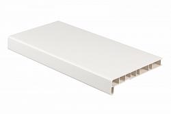 Подоконник ПВХ Crystallit Белый (сатин) 400мм