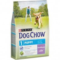 Корм для собак DOG CHOW Puppy с ягненком для щенков 14 кг