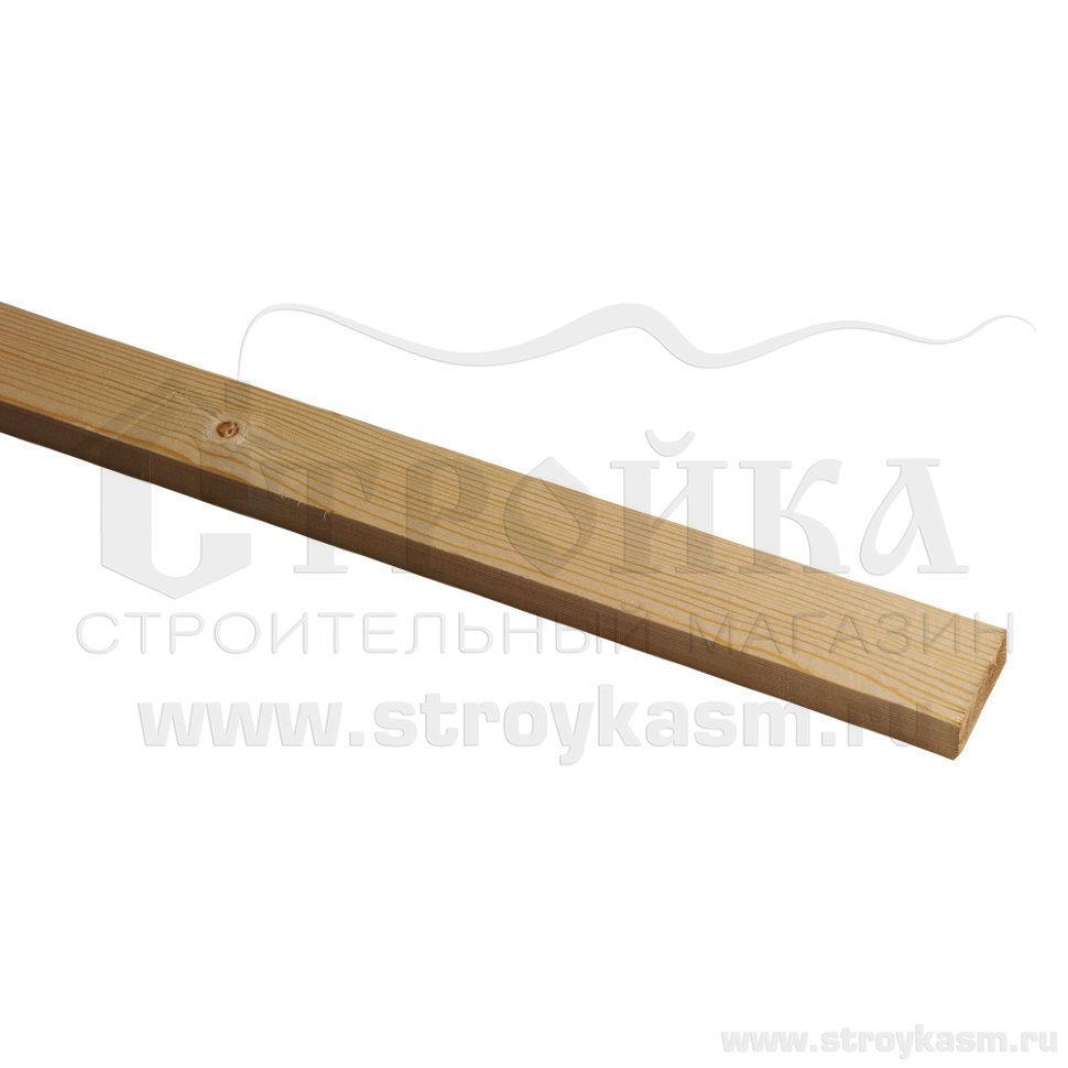 Рейка строганная сухая 40х10мм L=3000