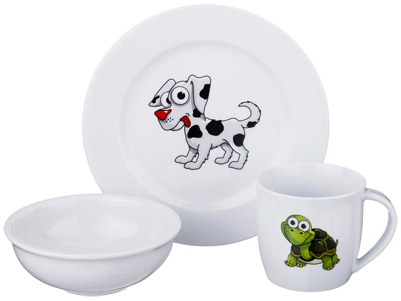 Набор посуды на 1 персону, 3 предмета 606-831