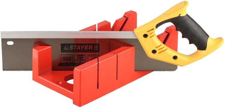 Набор ножовка с пластмассовым стуслом Stayer 15395-35