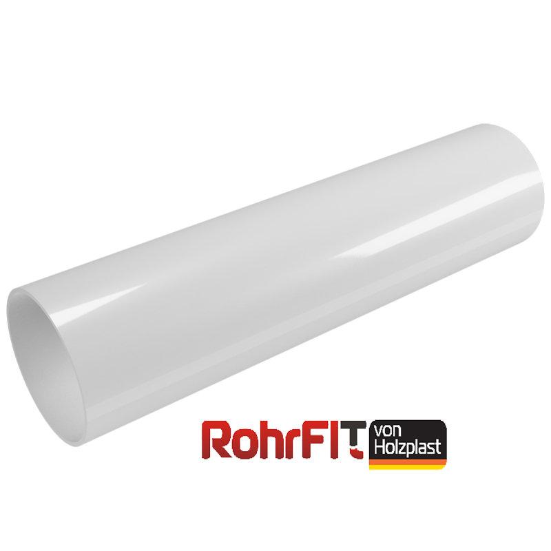 Водосточная труба ROHRFIT белая (ПВХ) (3м)