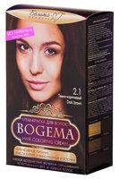 """Белита-М """"Bogema"""" Крем-краска для волос без аммиака тон 2.1 темно коричневый (Белита-М)"""