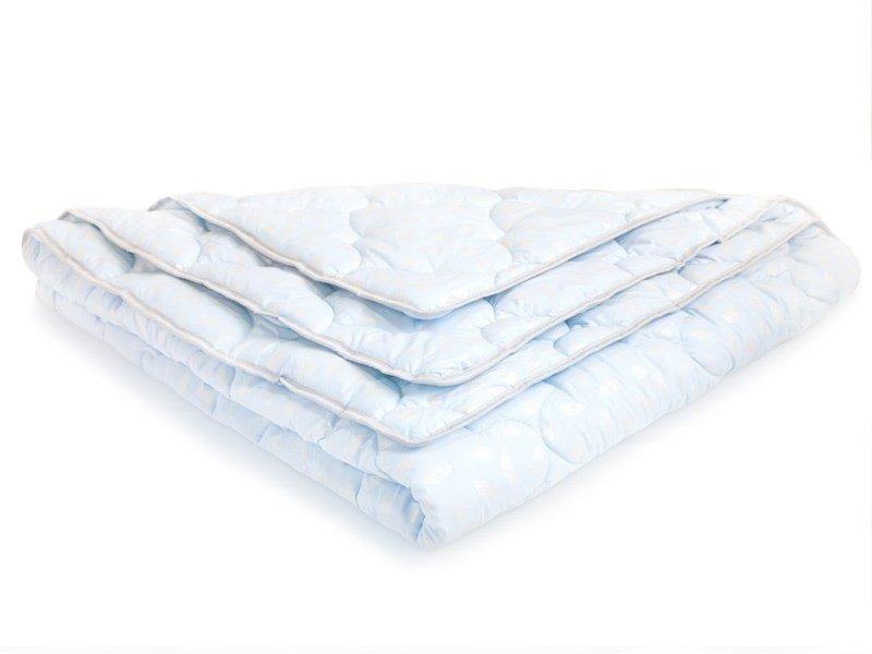 Детское одеяло DreamLine Пух (Зима) 140x140 см (140x140 см, 140 x 140 см, 1400 x 1400 мм) для ребенка, 15% Лебяжий пух + 85% улучшающие добавки