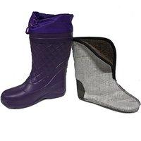 Сапоги женские зимние из ЭВА Барс С-051 (-50С), фиолетовые