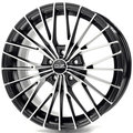 Диски OZ Ego 6.5x15 ET25 4x108 d65.1 Matt Black Diamond Cut - фото 1