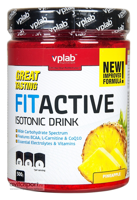 VP Laboratory FitActive • 500 г / Isotonic Drink • Pineapple / Ананас