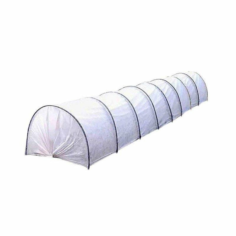 Парник быстрого монтажа Огородник 4м х 1м х 1,2м в сборе с агротексом 43