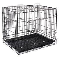 """Клетка для животных """"TRIOL"""" c 2 дверцами (эмаль), черная, 77x56x64 см"""