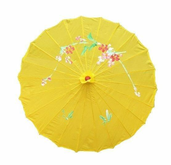 Зонт китайский Традиции востока малиновый