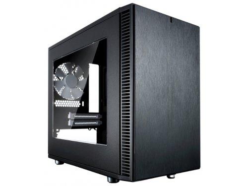 Корпус компьютерный Fractal-Design Define Nano S, Black Window
