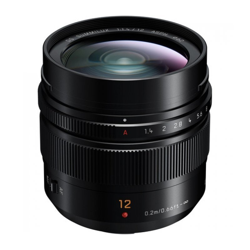 Объектив Panasonic Summilux 12mm f/1.4 Asph DG (H-X012E)