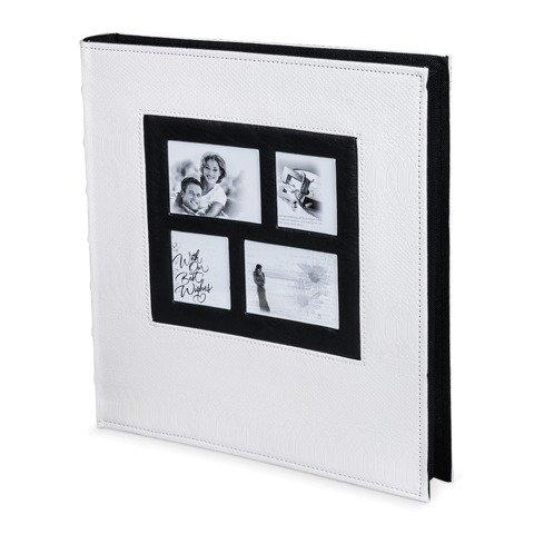 Фотоальбом BRAUBERG на 500 фотографий 10х15 см, обложка под кожу рептилии