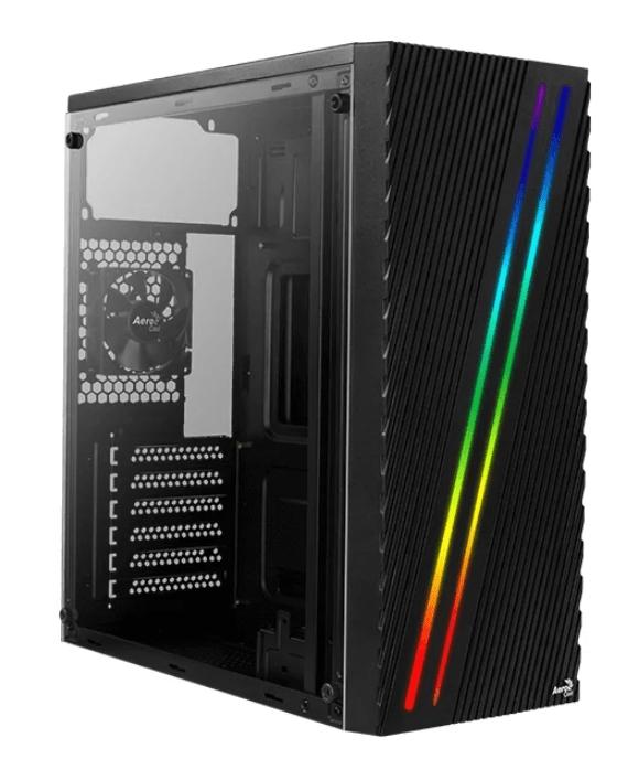 Компьютер ТоргПК RGB Teacher 351945 (AMD Ryzen 5 3400G 3700 МГц/AMD B450/16 ГБ DDR4 3200МГц (RGB)/128 ГБ SSD/AMD Vega 11 SMA/DVD-нет/AeroCool Streak Black/500W/DOS)