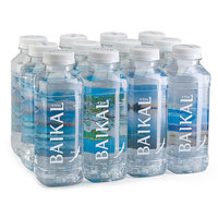 Глубинная байкальская вода BAIKAL430 0,45 литра, ПЭТ, 12 шт. в упак.