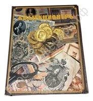 Альбом 23Х29 см для банкнот 60 шт.