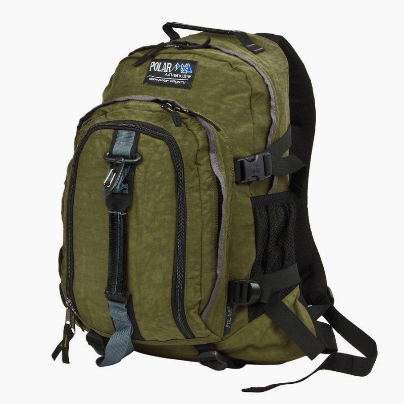 Рюкзак POLAR INC Polar Adventure молодежный П955Ж-08, хаки