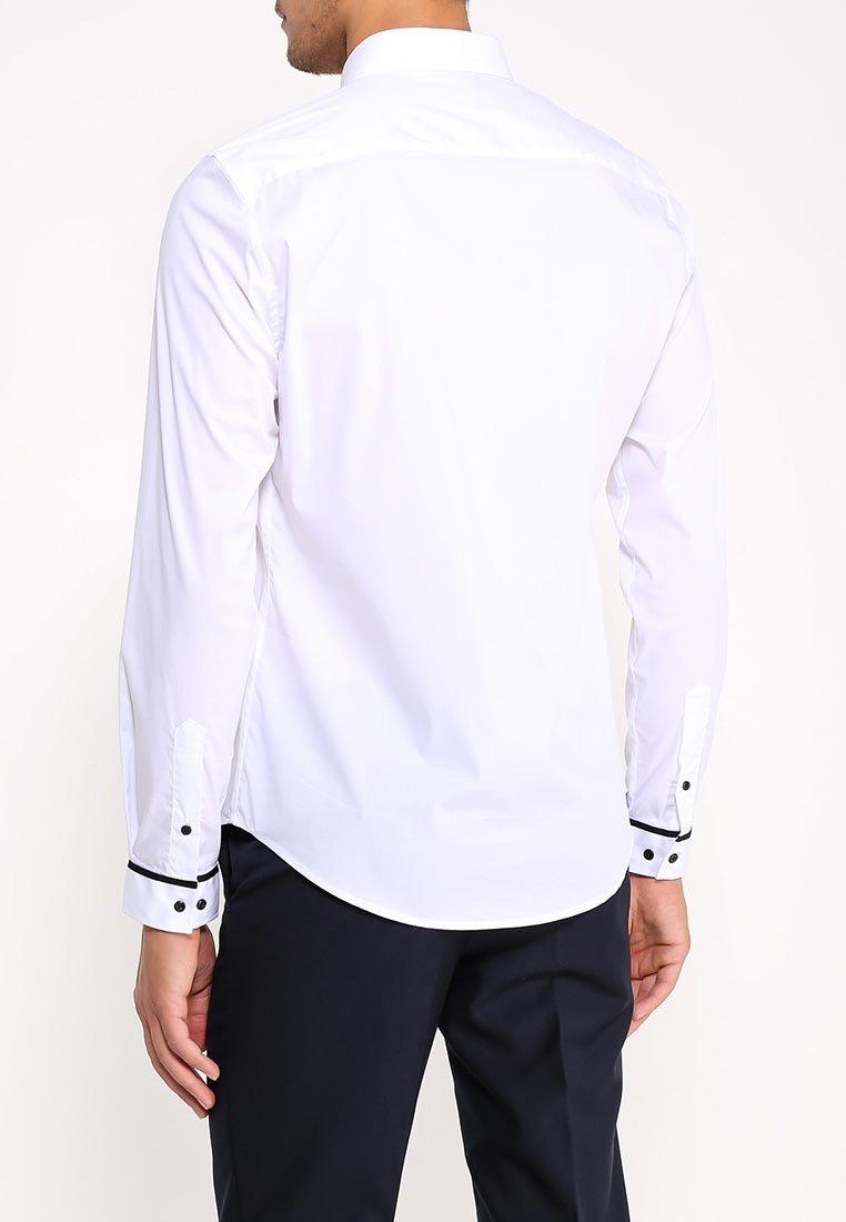 купить белую рубашку с длинным рукавом