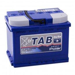 Автомобильный аккумулятор TAB POLAR 60R 600А обратная полярность 60 Ач (242x175x190)