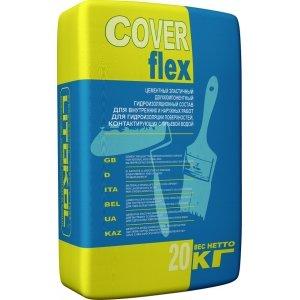 Гидроизоляция цементная LITOKOL COVERFLEX (литокол коверфлекс),(компонент А), 20 кг