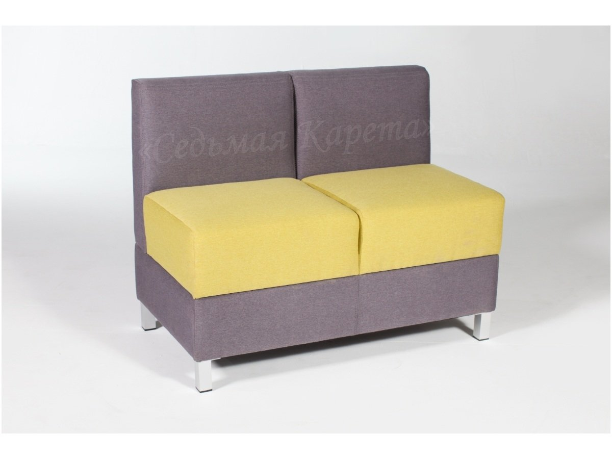 Маленький кухонный диван Седьмая карета Лион двухместный