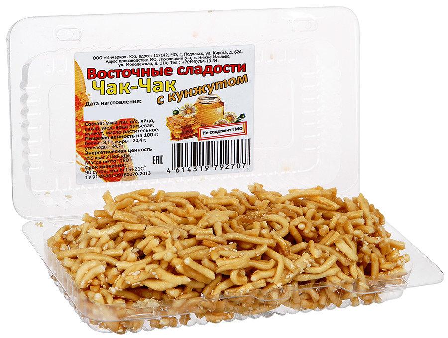 Чак-Чак Восточные сладости с кунжутом, 180г