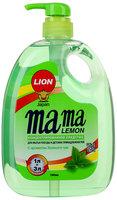 Средство Mama lemon концентрированное для мытья посуды и детских принадлежностей с ароматом Зеленого чая, 1л