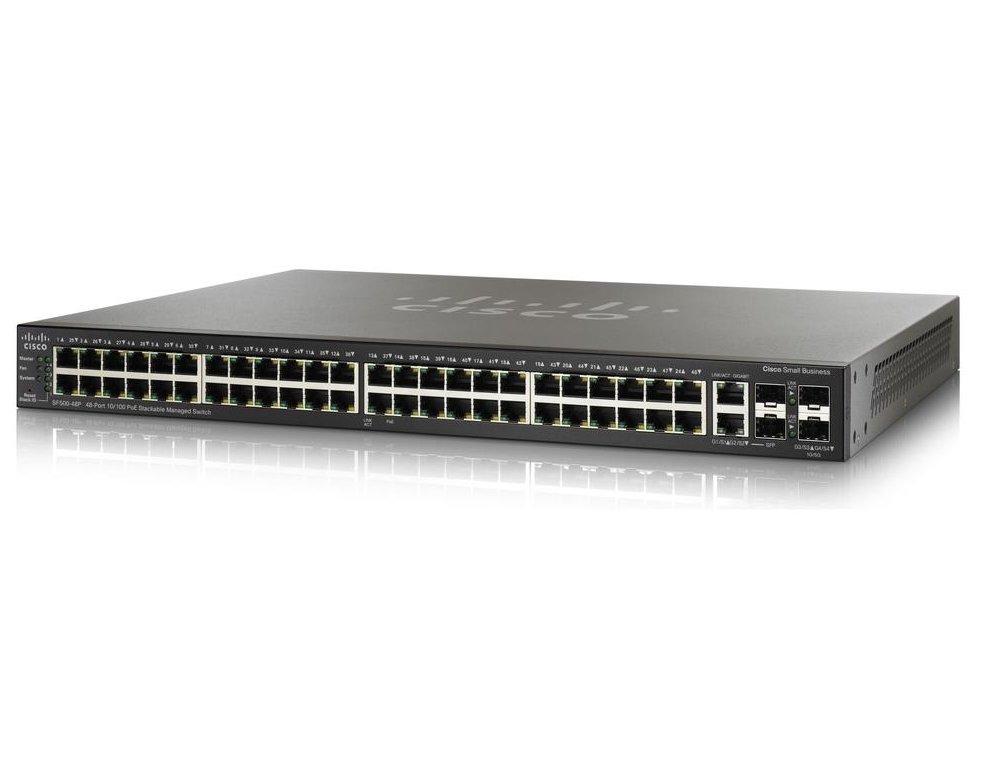 Коммутатор Cisco SB SF500-48-K9-G5