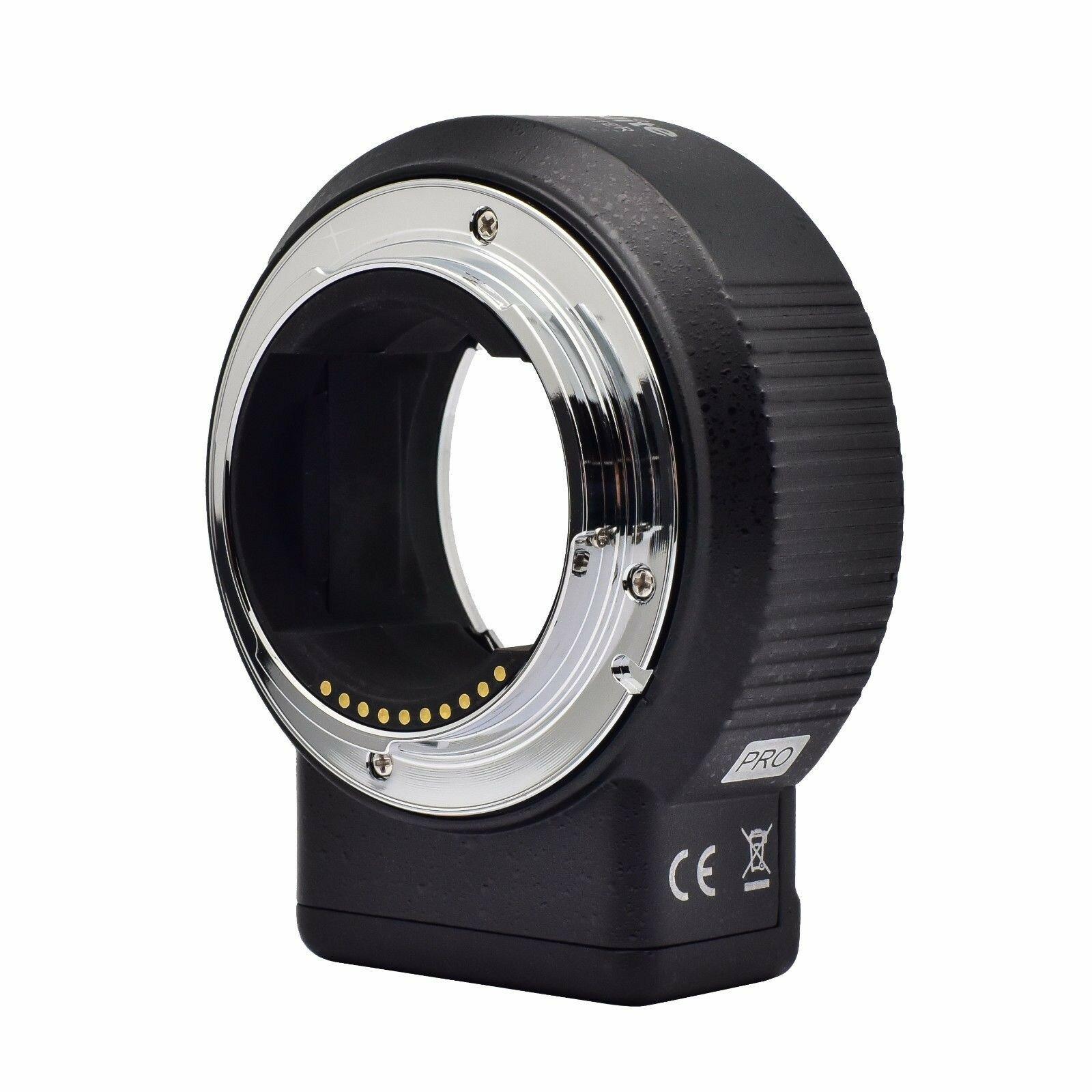 Адаптер Commlite CM-ENF-E1 PRO (Nikon F - Sony E-Mount)