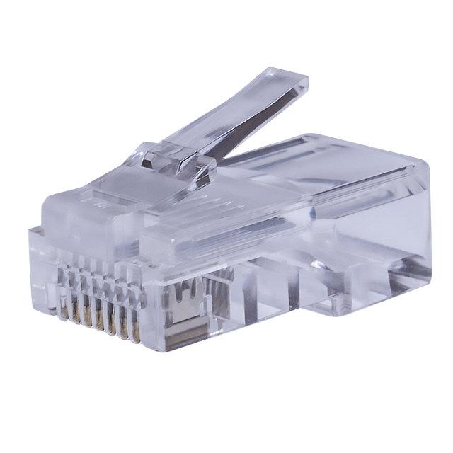 коннектор 8P8C компьютерный разъем U/UTP Cat.5e (RJ-45) 25шт (10-0226)