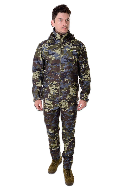 Демисезонный костюм для охоты и рыбалки ONERUS Тактика Полофлис