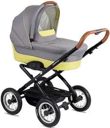 """Коляска для новорожденных Navington Corvet (люлька), колеса 12"""", Ibiza (00-0007911)"""